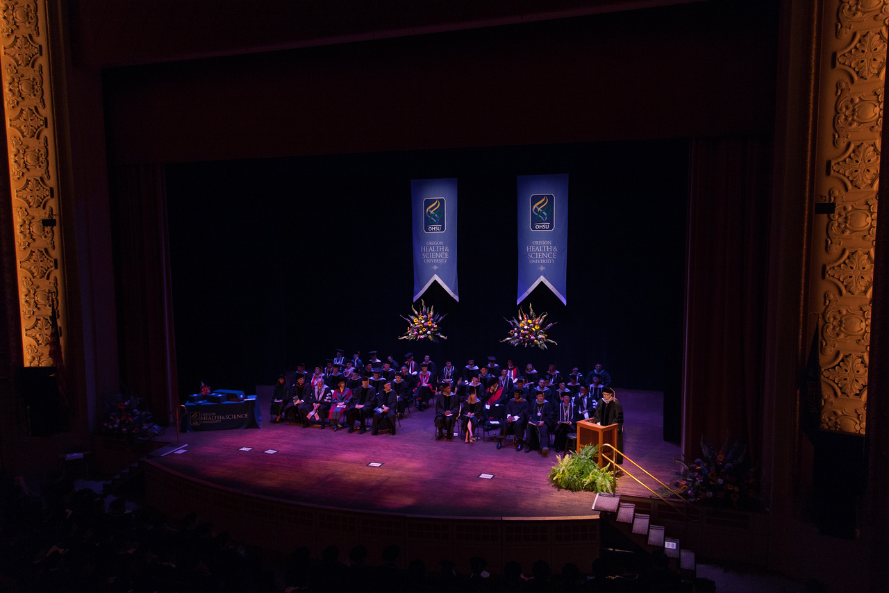 OHSU School of Dentistry Graduation, 2013